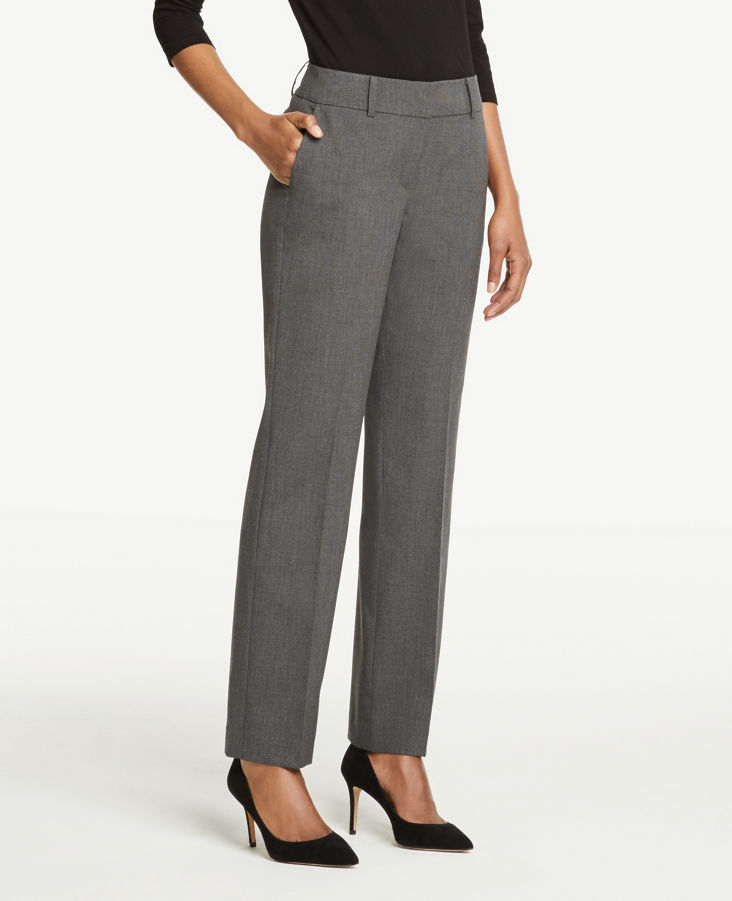 96a954b5af5c Signature Straight Leg Pants in Grey Charcoal 0