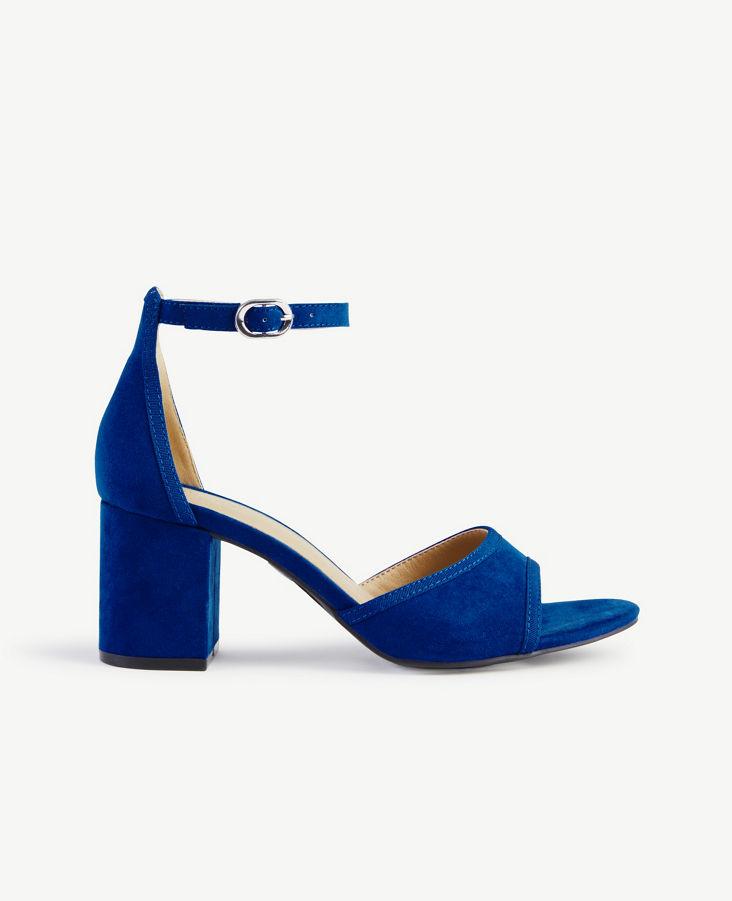 544a7814dfe Ankle Strap Block Heels 0
