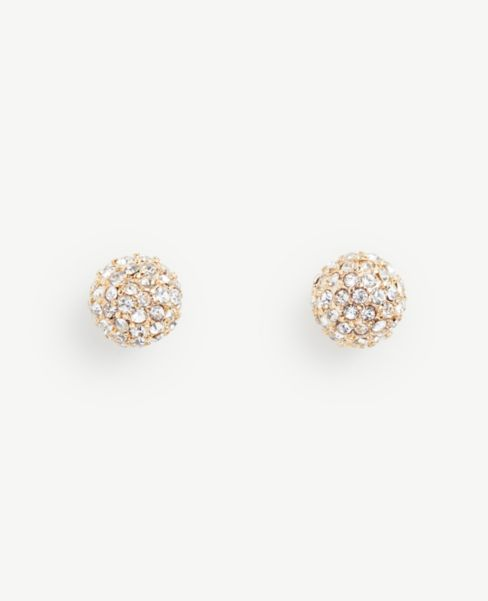 Ann Taylor Fireball Stud Earrings