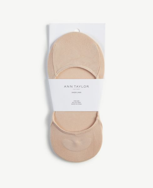 Ann Taylor Sheer No Show Socks
