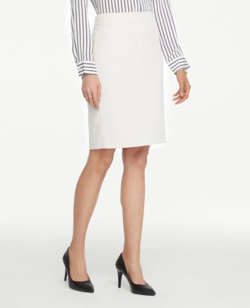 Ann Taylor Birdseye Pencil Skirt