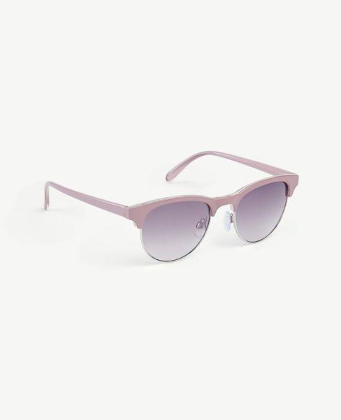 Ann Taylor Enamel Round Sunglasses