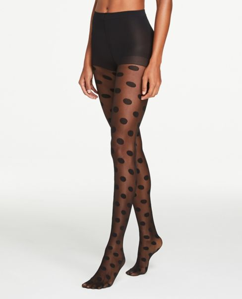 Ann Taylor Dotted Tights