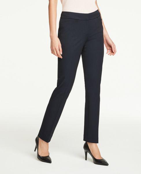 Ann Taylor Curvy Straight Leg Pants