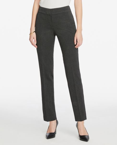 Ann Taylor Modern Slim Pants in Dots