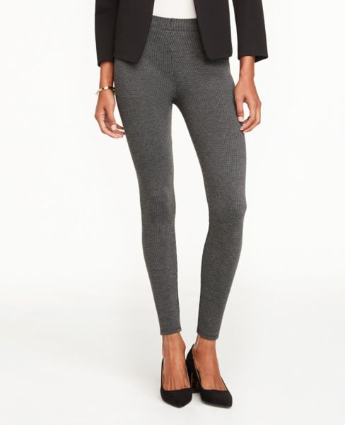 Ann Taylor Birdseye Essential Leggings