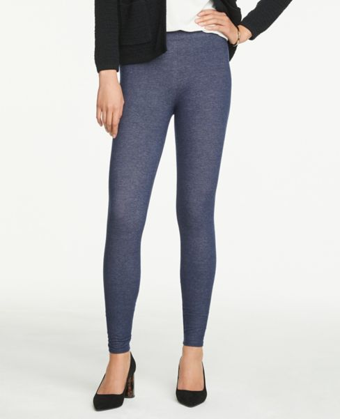 Ann Taylor Denim Essential Leggings