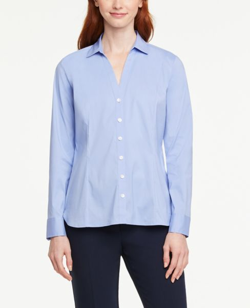 Ann Taylor Petite Button Down Shirt