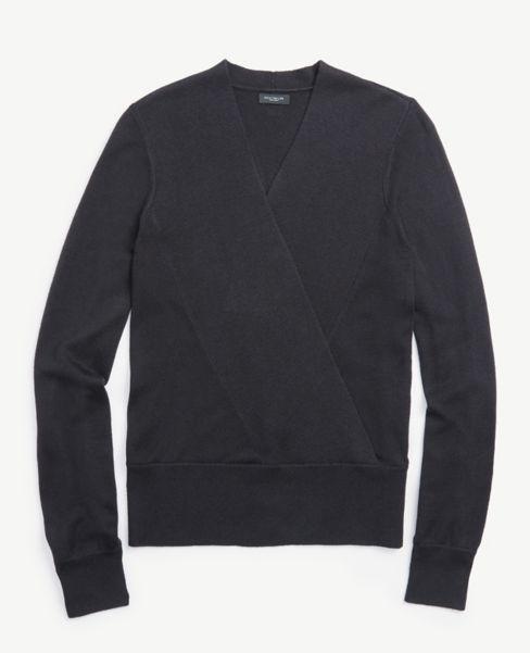 Ann Taylor Petite Wrap Sweater