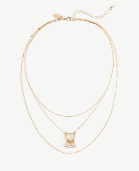 Ann Taylor Delicate Chain Necklace