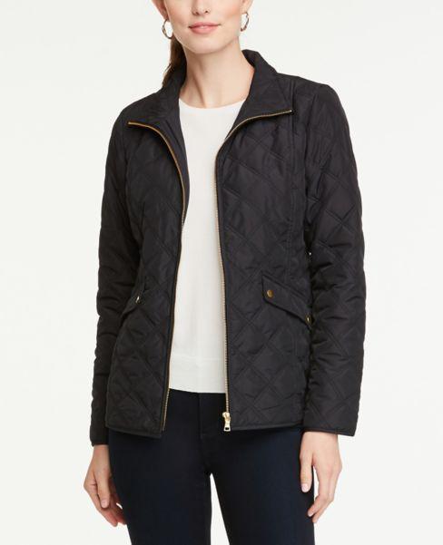 Ann Taylor Lightweight Puffer Jacket