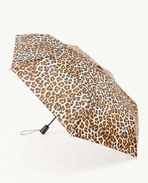 Ann Taylor Cheetah Print Umbrella