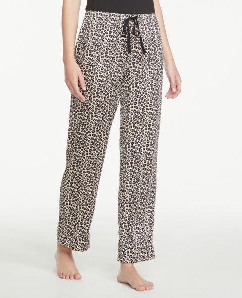 Ann Taylor Cheetah Print Pajama Pants