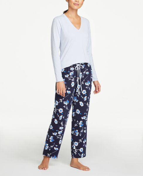 Ann Taylor Floral Pajama Set