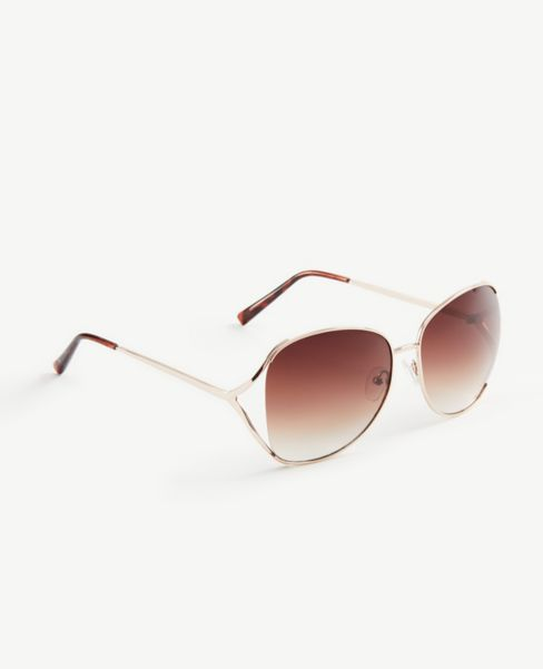 Ann Taylor Cutout Square Sunglasses