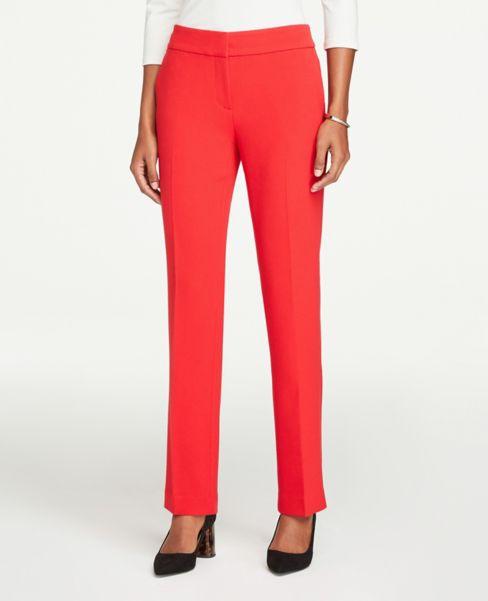 Ann Taylor Modern Straight Leg Pants