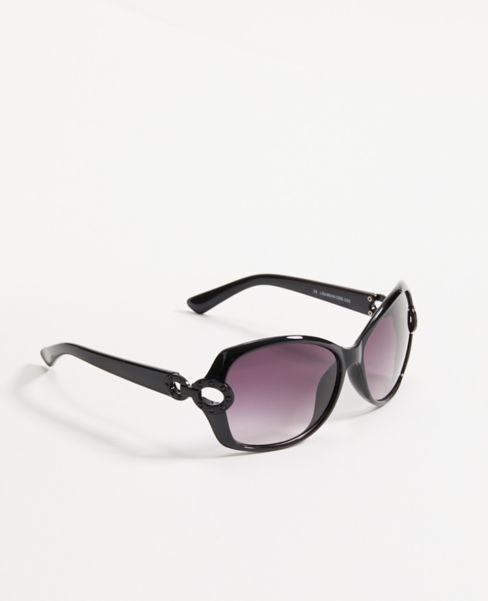 Ann Taylor Sparkle Wrap Sunglasses