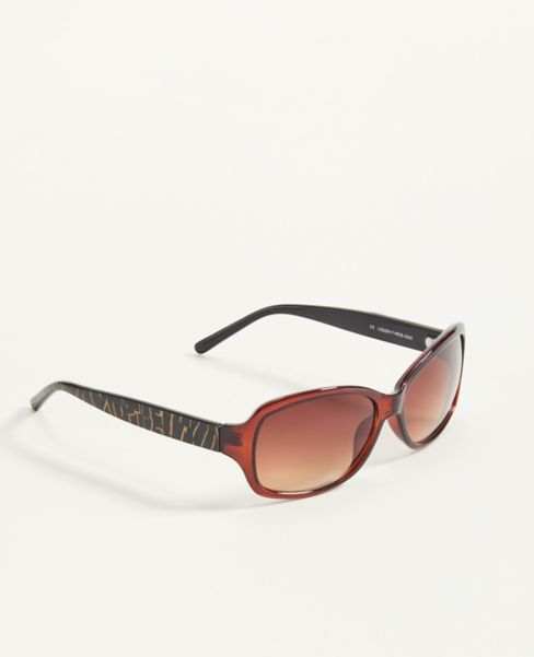 Ann Taylor Crackle Arm Wrap Sunglasses