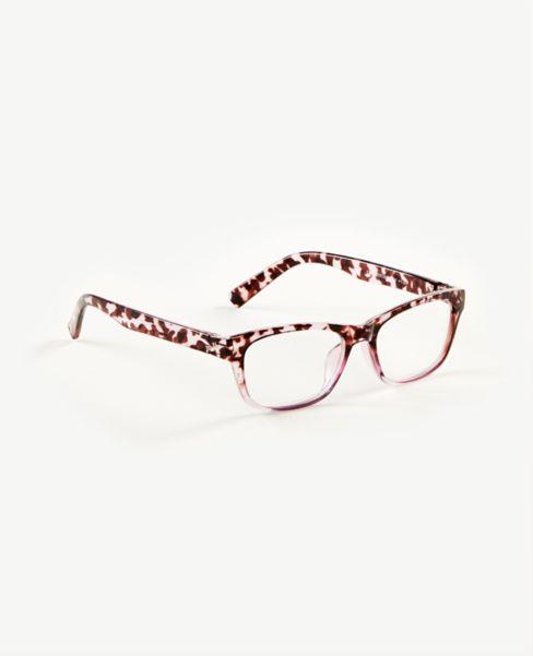 Ann Taylor Ombre Tortoiseshell Print Reading Glasses