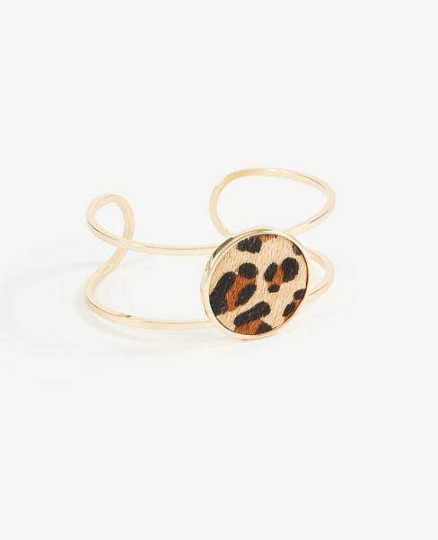 Ann Taylor Leopard Print Cuff Bracelet