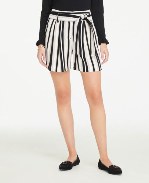 Ann Taylor Striped Soft Shorts