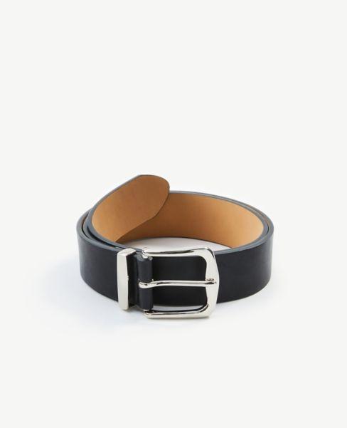 Ann Taylor Wave Buckle Belt