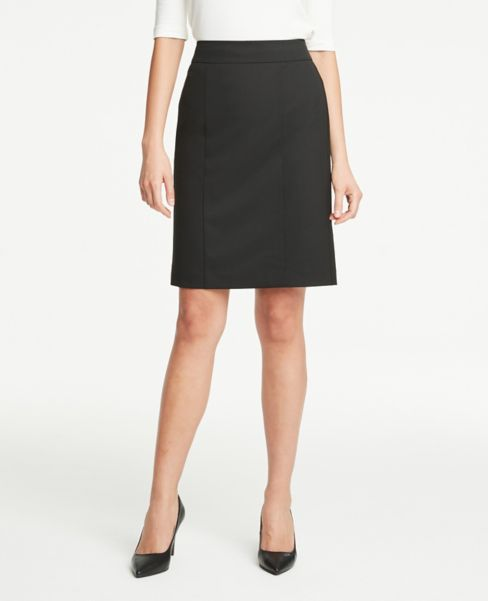 Ann Taylor Petite Pencil Skirt in Black