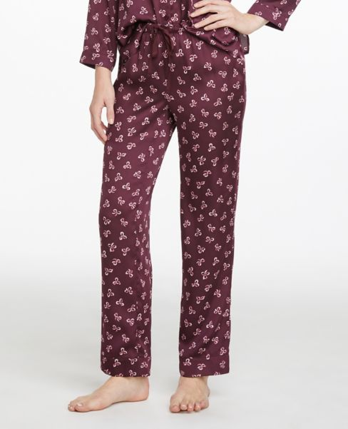Ann Taylor Bow Pajama Pants