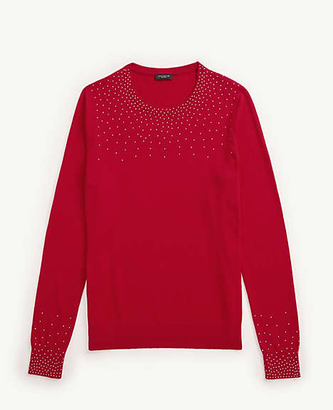 Image result for beaded yoke sweater ann taylor factory