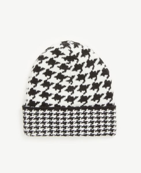 Ann Taylor Houndstooth Hat