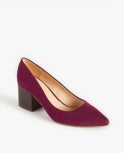 Ann Taylor Block Heel Pumps
