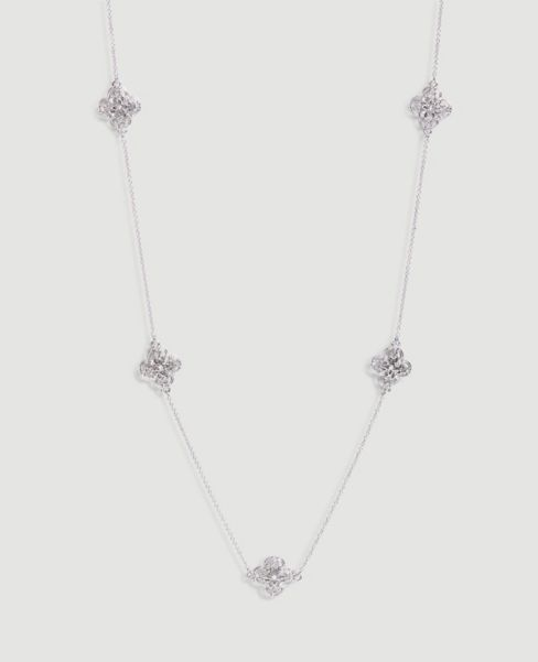 Ann Taylor Filigree Layering Necklace