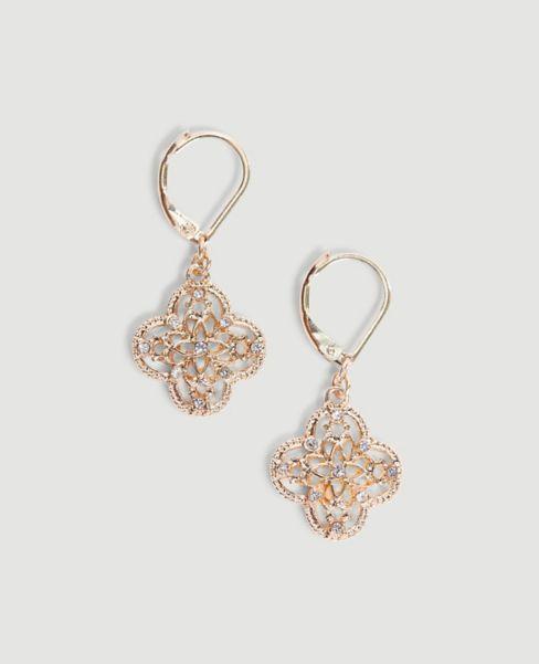 Ann Taylor Filigree Earrings
