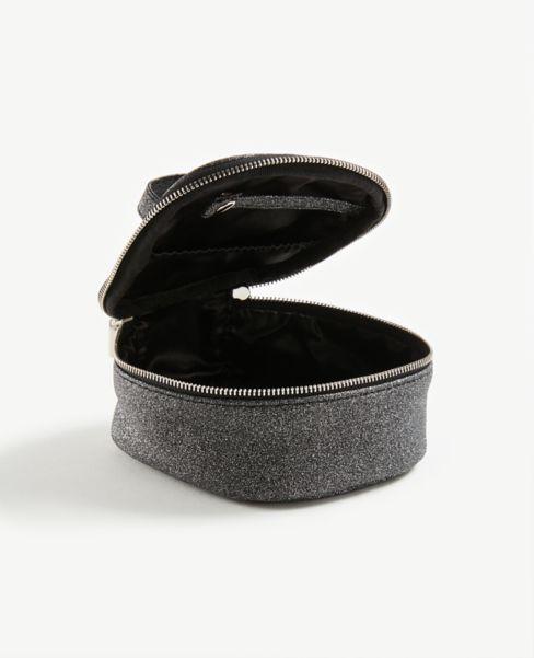 Ann Taylor Glitter Jewelry Case