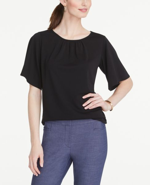 Ann Taylor Angel Sleeve Top
