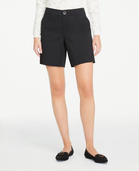 Ann Taylor Twill Shorts with 6 Inch Inseam