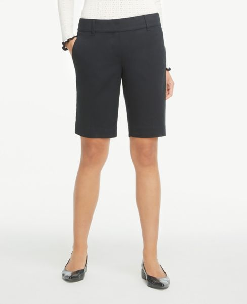 Ann Taylor Twill Shorts with 10 Inch Inseam