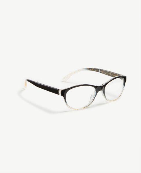 Ann Taylor Glitter Foldable Reading Glasses