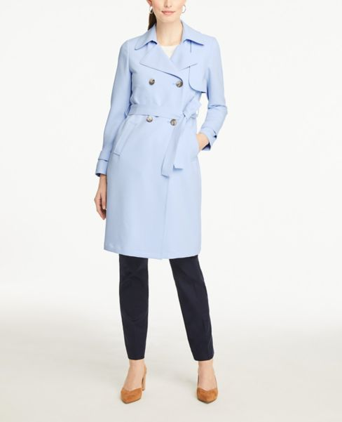 Ann Taylor Soft Trench Coat