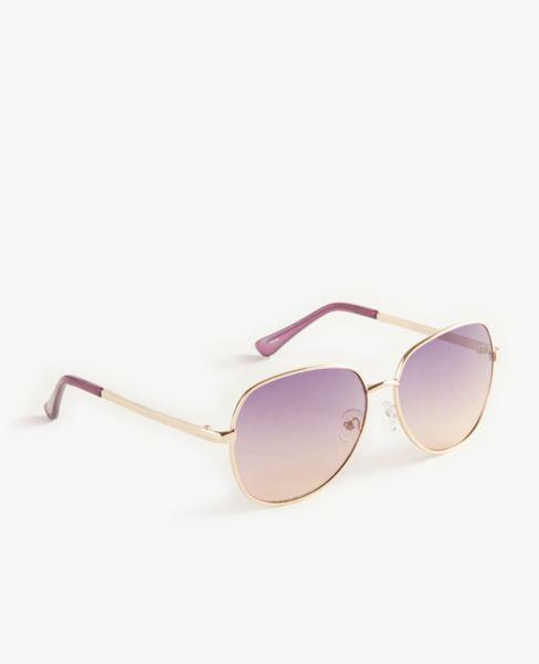 Ann Taylor Small Aviator Sunglasses