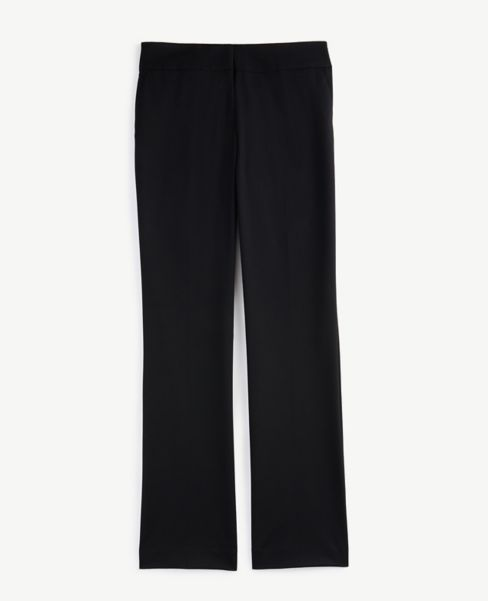 Ann Taylor Curvy Trousers in Black