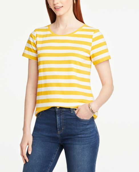 Ann Taylor Striped Tee