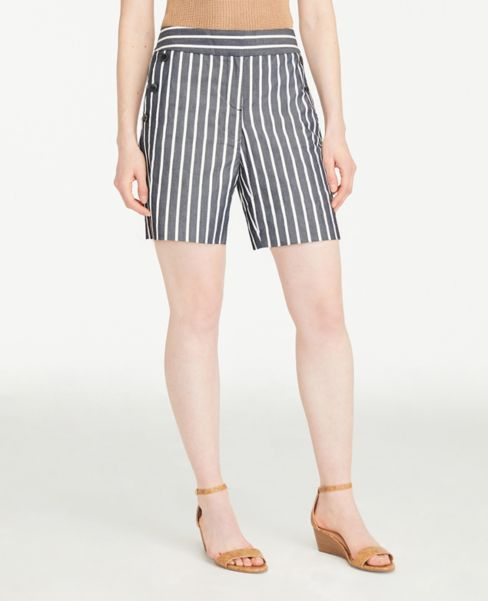 Ann Taylor Striped Sailor Shorts