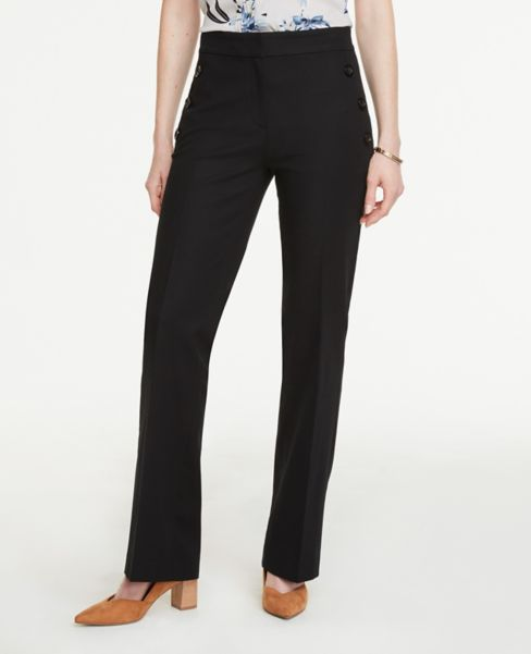 Ann Taylor Curvy Sailor Flare Pants