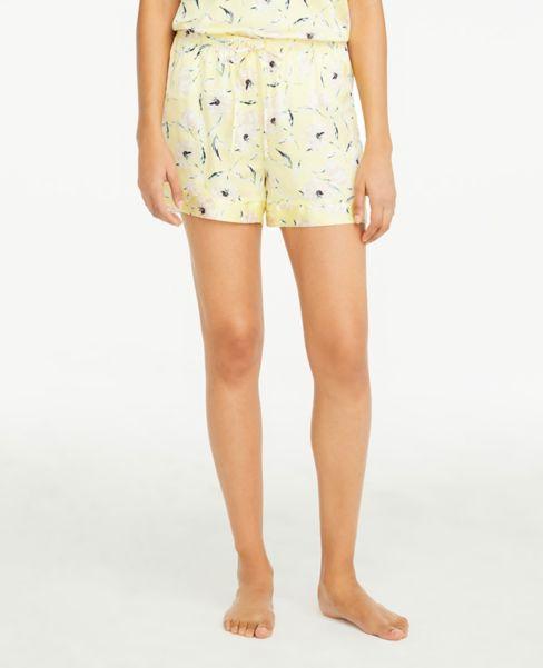 Ann Taylor Floral Silky Pajama Shorts