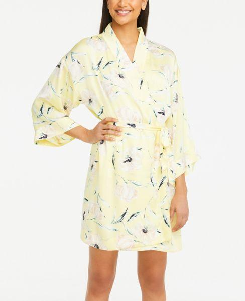 Ann Taylor Floral Silky Robe