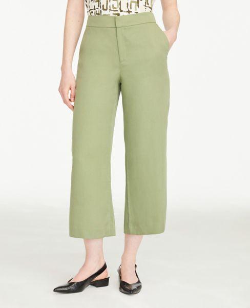 Ann Taylor Soft Crop Pants