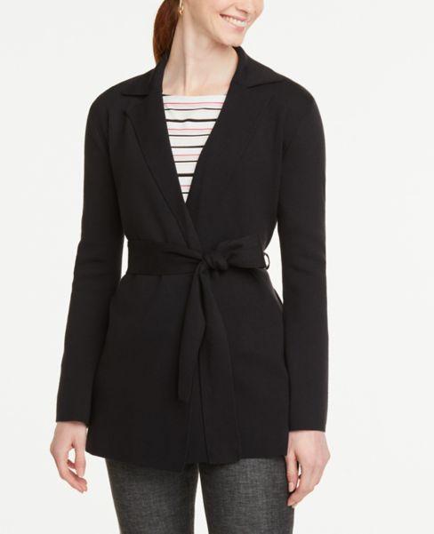 Ann Taylor Wrap Sweater Jacket