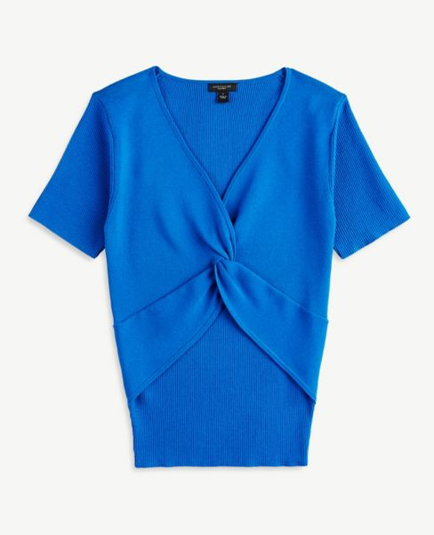 Ann Taylor Knot Front Sweater