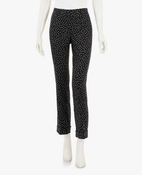 Ann Taylor Butterfly Slim Crop Pants